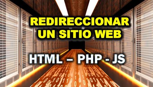 Redireccionar un sitio web
