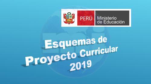 Esquemas de Proyecto Curricualr Institucional