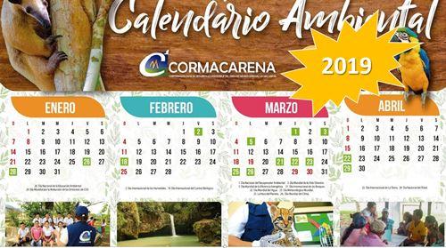 Calendario Ambiental 2019