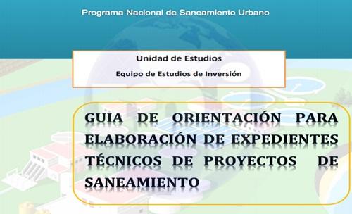 Elaboración de Expedientes Técnicos para Proyectos de Saneamiento 500x300