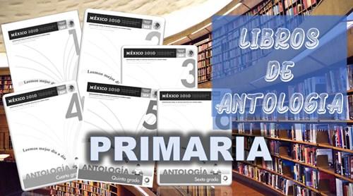 libros de antologia para primaria
