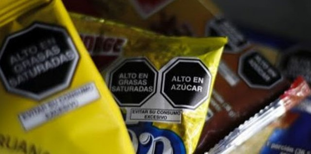octogonos de advertencia Peru