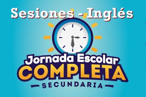 sesiones JEC Inglés 2019