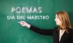 Dia del maestro poemas