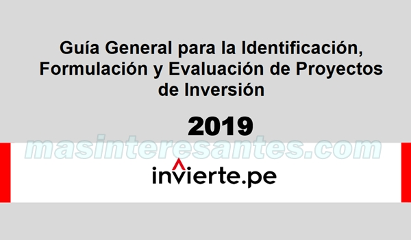formulacion evaluacion de proyectos de inversion