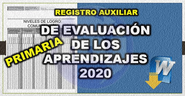 registro auxiliara 2020 word