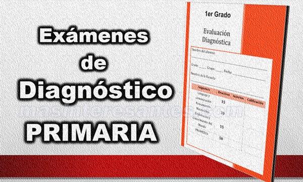 examenes de diagnostico para primaria