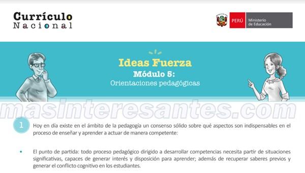 orientaciones pedagogicas 2020