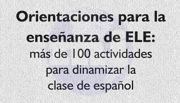 100 actividades para dinamizar la clase