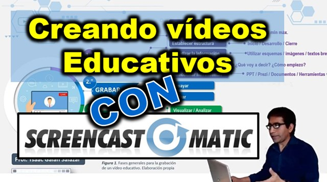 crear videos educativos con screencast o matic
