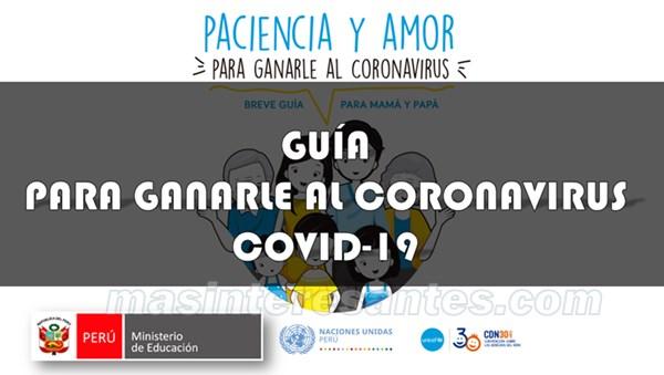 guia para ganarle al coronavirus