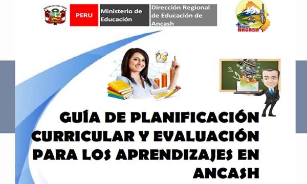 guia planificacion curricular y evaluacion aprendizajes
