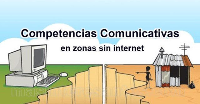 competencias comunicativas en zonas sin internet