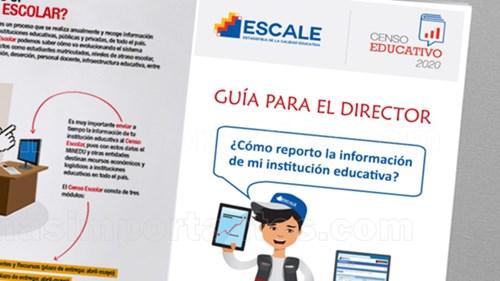 censo educativo 2020 guia para el director