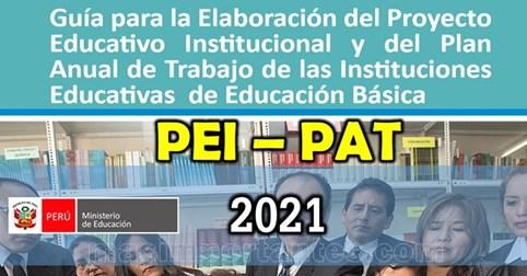 Guia para la elaboracion PEI PAT 2021