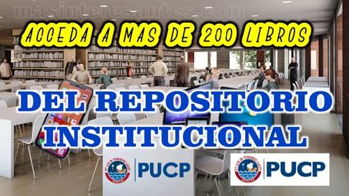 Descargar libros del Repositorio Institucional de la PUCP