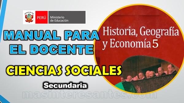 Manual para el Docente de Ciencias Sociales