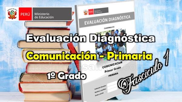 Evaluación diagnóstica Primer Grado primaria - comunicación