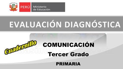 Evaluación diagnóstica de comunicación 3ro de primaria