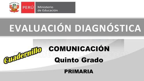 Evaluación diagnóstica Comunicación 5º de primaria