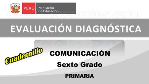 Evaluación diagnóstica Comunicación 6º de Primaria