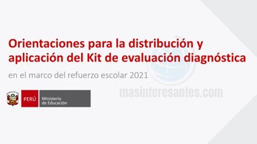 Aplicación del Kit de Evaluación Diagnóstica
