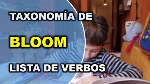 Taxonomía de Bloom - verbos